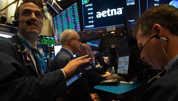Las últimas dos semanas en Wall Street se han desarrollado con fuertes bajadas. (Foto: AFP)