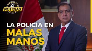 La policía en las manos de Luis Barranzuela