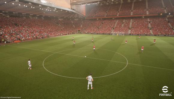 'eFootball 2022' utilizará la nueva versión del motor gráfico Unreal Engine. (Imagen: Konami)