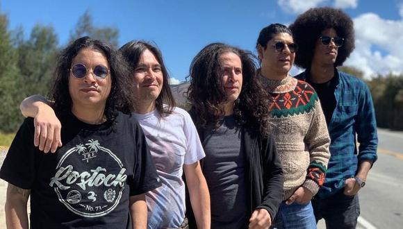AMÉN, con su líder Marcelo Motta, ofrecerán un concierto virtual el próximo Viernes 16 de Abril. (Foto: @amenrockperu)