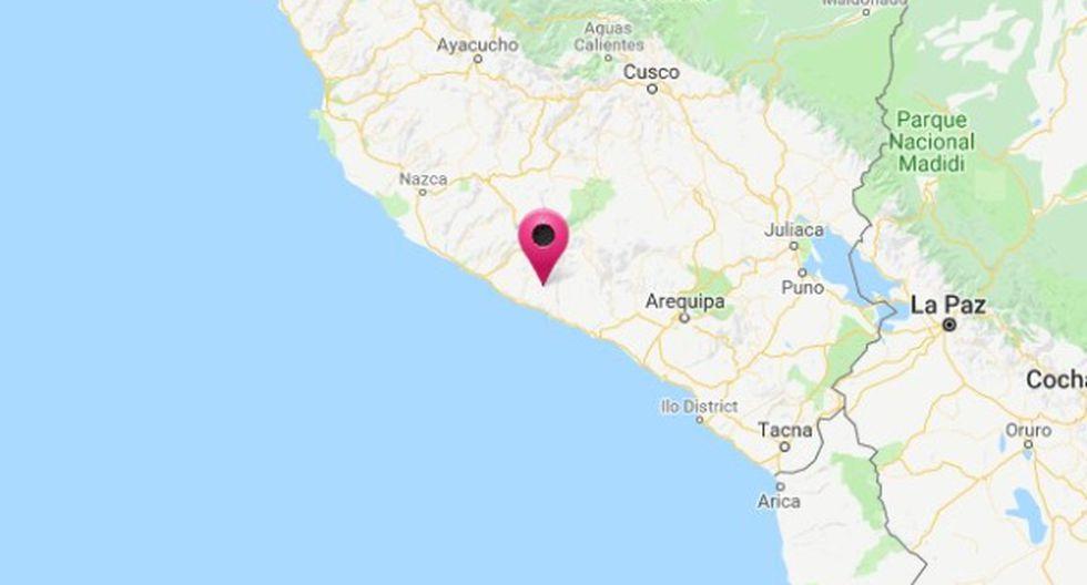 El epicentro del movimiento telúrico fue ubicado a 32 kilómetros al noreste de Atico, distrito de la provincia arequipeña de Caraveli.