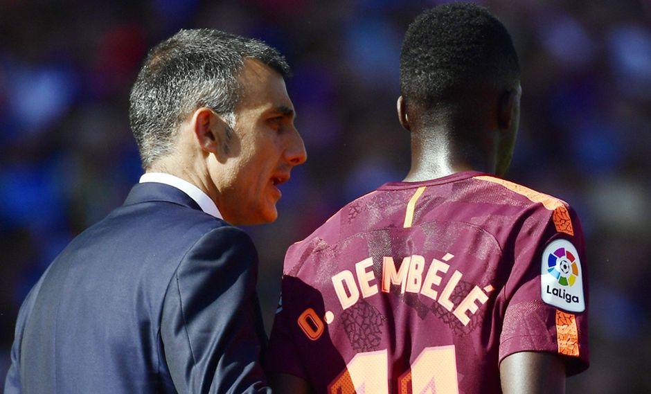 Ousmane Dembelé tiene oferta para dejar FC Barcelona por PSG. (Foto: AFP)