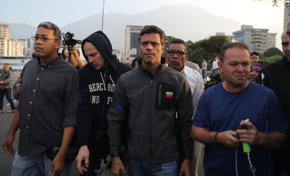 Roban la casa de Leopoldo López. (Foto: EFE)