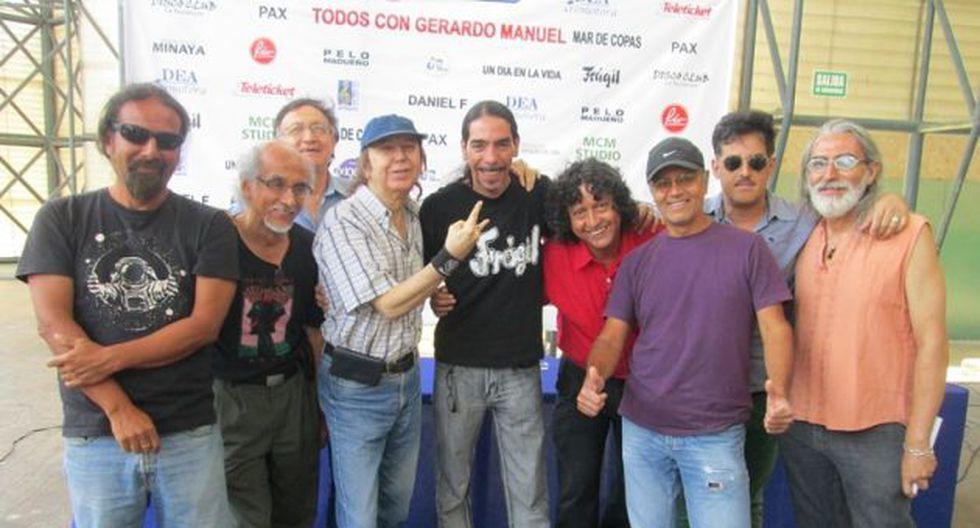 Gerardo Manuel será homenajeado por sus amigos. (Difusión)