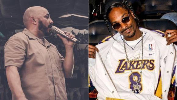 """""""Grandes ligas"""", canción que une a Lupillo Rivera con Snoop Dogg. (Foto: @lupilloriveraofficial/@snoopdogg)"""