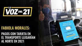 Fabiola Morales sobre pagos con tarjeta en el transporte público