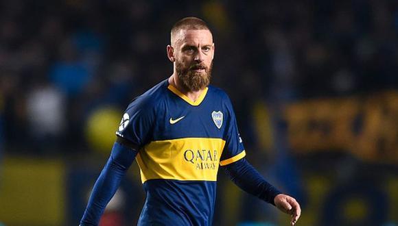 Daniele De Rossi dejó la concentración de Boca Juniors este lunes. (Foto: AFP)