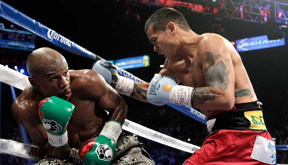 Recuerda las peleas entre Floyd Mayweather y Marcos Maidana. (Foto: AFP)