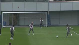 El Manchester City prepara su partido ante el PSG