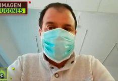 Kike Mateu, periodista de 'El Chiringuito', fue dado de alta tras recuperarse de coronavirus