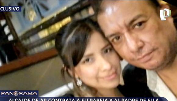 El alcalde de San Luis, David Rojas Maza, negó haber tenido una relación con Ana Cristina Alanya. (Panorama)