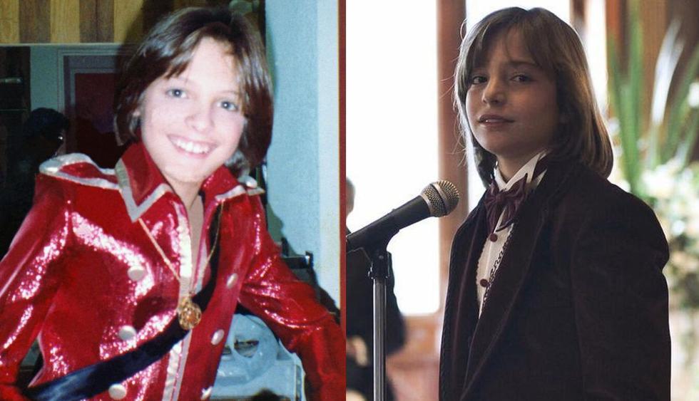 Izan Llunas, hijo de Marcos Llunas, interpretó Luis Miguel en su niñez en la serie de Netflix y acaba de recibir un disco de oro por cantar sus canciones. (Foto: @luismiguellaserie/@izanllunas)