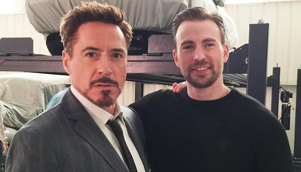 Robert Downey Jr. le dedicó emotivo mensaje a Chris Evans tras su despedida del 'Capitán América'. (Foto: @aboutchrisevans)