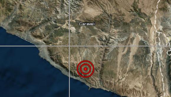 Las autoridades locales del Instituto Nacional de Defensa Civil (Indeci) aún no han reportado daños personales ni materiales a causa del sismo, que ocurrió esta noche. (Captura de pantalla)