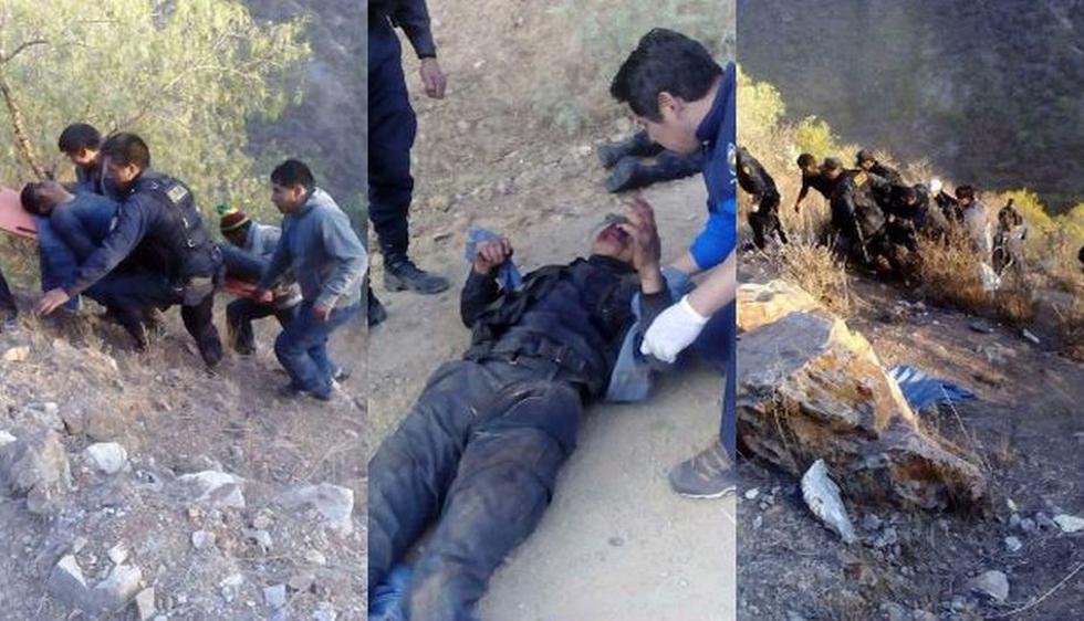 Doce policías muertos y 16 heridos en un accidente de bus en Apurímac. (Fotos: Milagros Portilla)