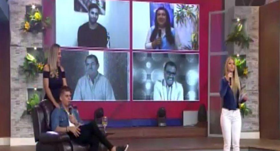Ignacio Baladán y Brunella Horna (América TV)
