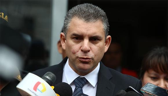 Vela anunció nuevo pedido de extradición contra el ex presidente Alejandro Toledo. (Foto: Alessandro Currarino / GEC)