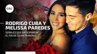 Melissa Paredes y el 'Gato' Cuba: mira las señales que anticiparon el fin de su matrimonio