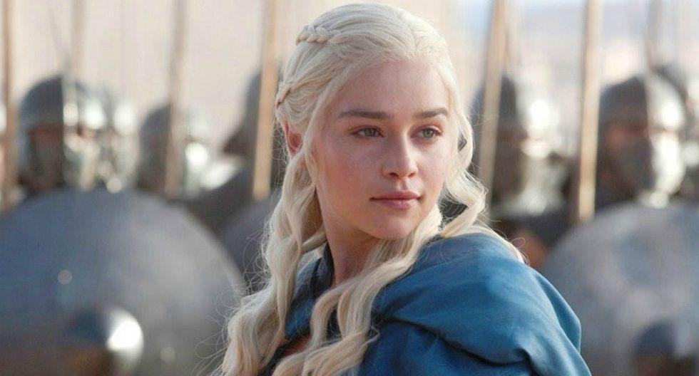 Si eres fanático de Emilia Clarke, la puedes ver interpretando a la famosa Daenerys Targaryen en Game of Thrones, un personaje que ha interpretado desde 2011. (HBO)