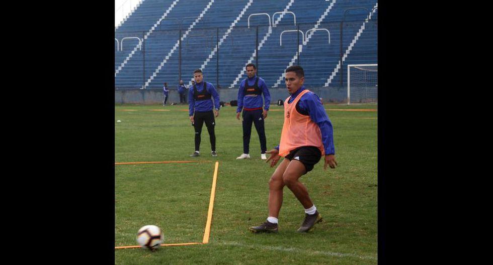 Las postales de la práctica de Sporting Cristal de este lunes en Mendoza. (Foto: Sporting Cristal)