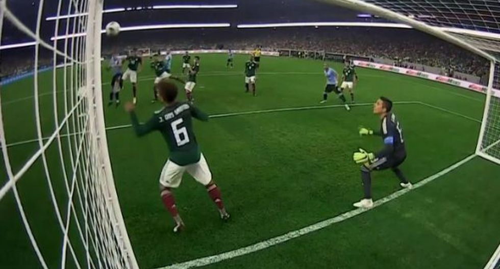 Giménez puso el 1-0 ante México por amistoso de fecha FIFA. (Captura: YouTube)