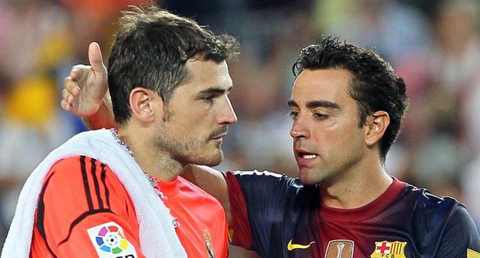 Casillas y Hernández fueron muchas veces rivales en la Liga española. (AFP)