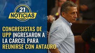 Congresistas de UPP se metieron a la cárcel para reunirse con Antauro