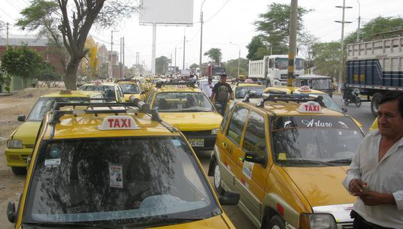 Taxistas piden una mesa de diálogo con la comuna.