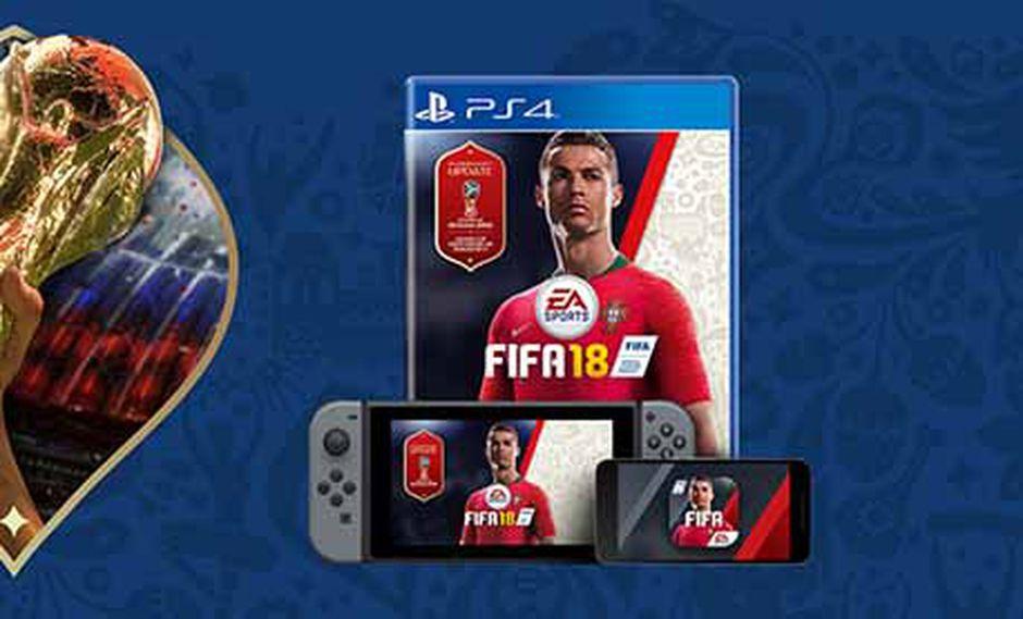 Muy pronto llegará un update para todas las consolas y celulares, gracias al cual se podrá vivir el mundial en FIFA 18.