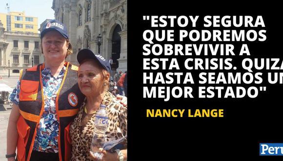 Nancy Lange abrió su cuenta de Twitter ayer para tener una mejor comunicación con la población. (Foto: Fabiola Valle)