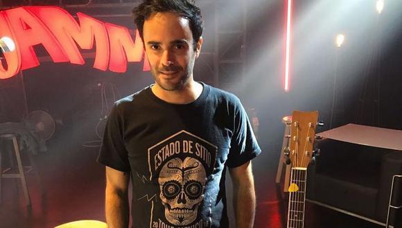 Joaquín Cúneo, vocalista del grupo de rock Estado de sitio, falleció el 19 de abril. (Foto: @estadodesitiooficial)