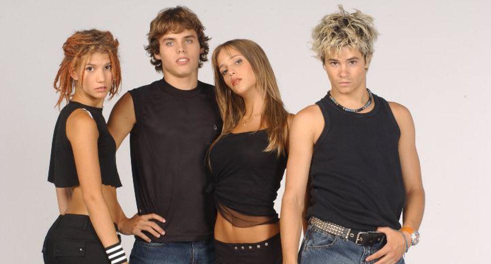 Producida por Cris Morena y contada a lo largo de dos temporadas, la historia de un grupo de estudiantes del exclusivo Elite Way School derivó en el grupo musical Erreway. Foto: AP