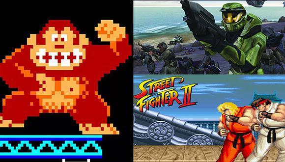 Donkey Kong y otros tres clásicos juegos fueron incluidos en el Salón Internacional de la Fama del videojuego. (Composición)