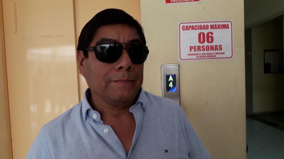 Caso contra Walter Yaipén se remonta a 2014, cuando habría intentado apropiarse de un terreno en el distrito de Pimentel, en Chiclayo.