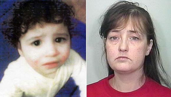 Amanda Hutton mató de hambre a Hamzah Khan y dejó su cadáver en su cuna por dos años. (AP)