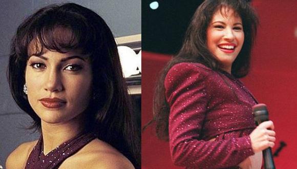 Revelan escenas ocultas de Jennifer López en el papel de Selena Quintanilla