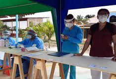 Tumbes: Realizaron 45 pruebas rápidas en el distrito de San Juan de la Virgen