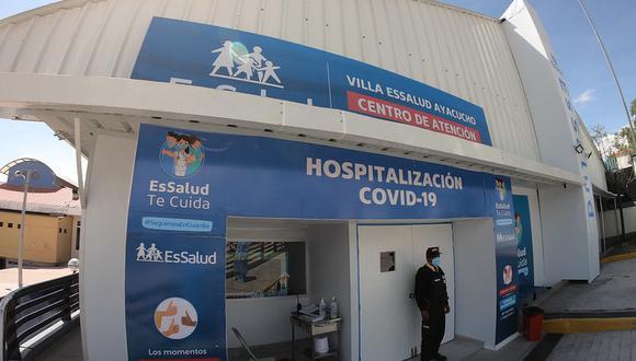 Centros de atención hospitalaria están destinados para 35 mil personas. (Foto: EsSalud)