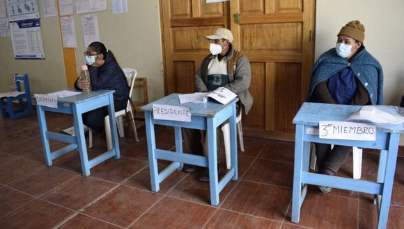 Los comicios se desarrollarán bajo estrictos protocolos de seguridad para evitar el contagio por COVID-19. (Foto: ONPE)