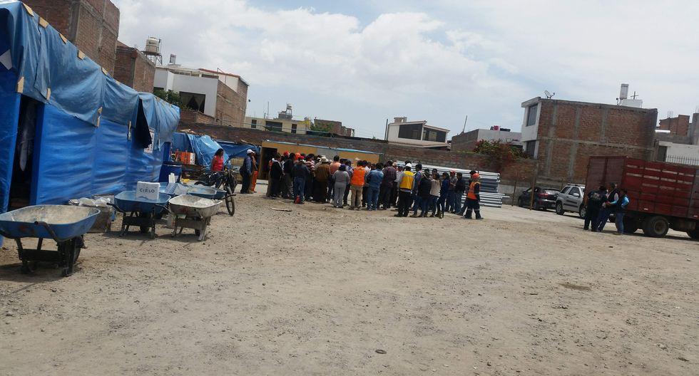 Trabajadores de la municipalidad iban a recibir un adelanto de sueldo por las fiestas de fin de año. (Por Gessler Ojeda)