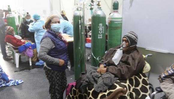 El primer caso de la variante Delta se ha presentado en una adulta mayor de Arequipa, donde los contagios y fallecidos por COVID-19 se han incrementado. (Foto referencial GEC)