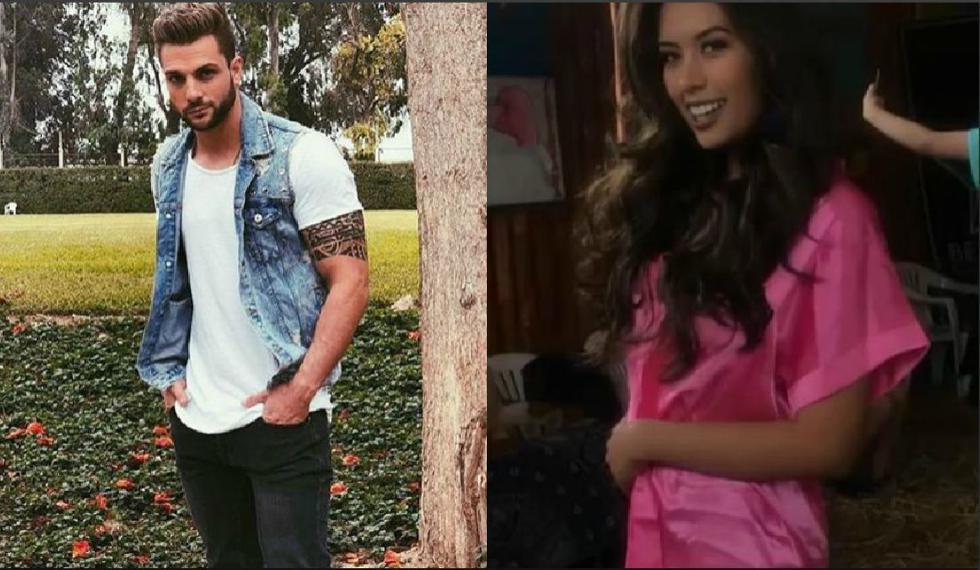 Nicola Porcella reiteró que demandará a Claudia Meza, la Miss Trujillo 2019. (Instagram: @nicolaporcella12/ @claudiamezarosas)