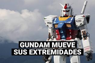Japón: Gundam a escala real está terminado y da sus primeros pasos