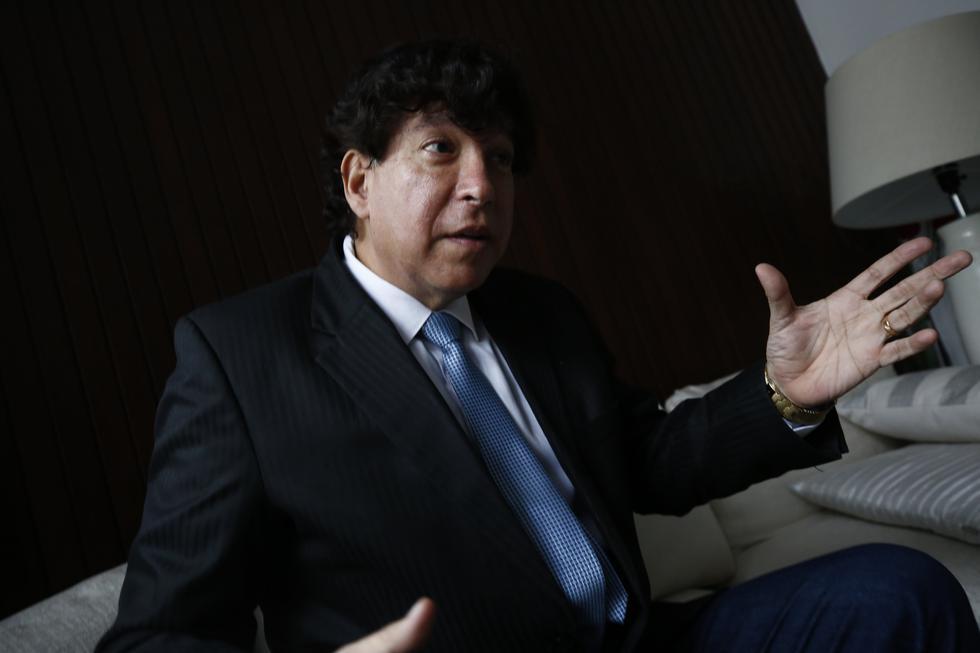 Iván Noguera es miembro del Consejo Nacional de la Magistratura. (Piko Tamashiro)