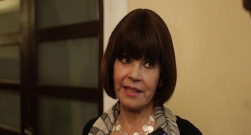 La destacada actriz nacional Ofelia Lazo falleció a los 83 años a causa de un infarto. (Foto: GEC)