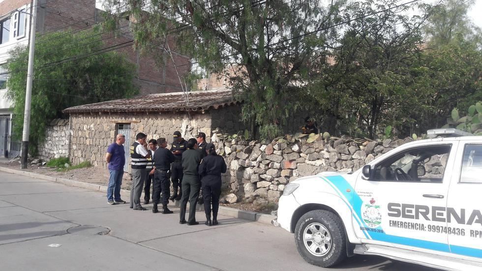 Mujer fue estrangulada en la casa que alquilaba en Ayacucho. Su esposo es el principal sospechoso. (Foto: Dilo fuerte - Ayacucho)
