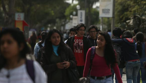 Universitarios han sido los más beneficiados con la reforma. (GEC)