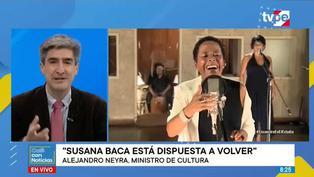 """Alejandro Neyra: """"Susana Baca está dispuesta a volver a la Comisión Consultiva de Cultura"""""""
