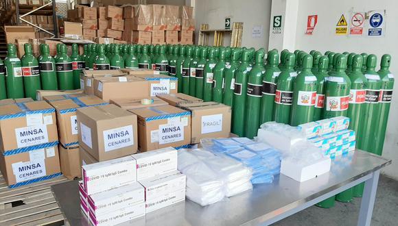 Áncash: región recibió medicinas y equipos de protección para centros de salud (Foto: Gore Áncash)