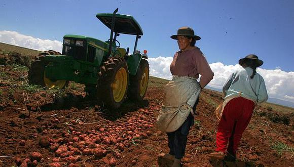 Los sistemas información son la apuesta del nuevo gobierno para paliar la sobreproducción en el sector agrario. (Foto: El Comercio)<br>